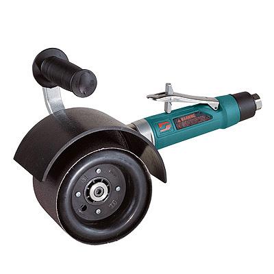 Lixadeira com roda inflável